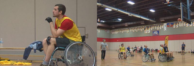 Un groupe participant au 22e baskethon.