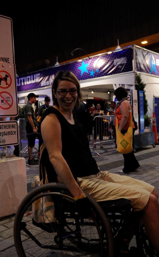 Souvernir de mes 4 mois en chaise roulante - Catherine Blanchette-Dallaire